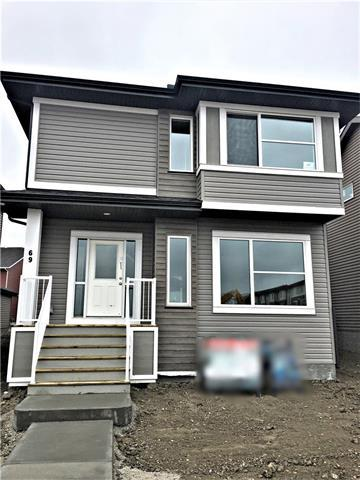 69 Cornerstone Manor NE, Calgary, AB T3N 1G5 (#C4187885) :: The Cliff Stevenson Group