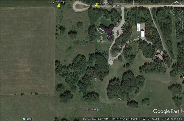 32111 Badger Road, Rural Rocky View County, AB T4C 1A3 (#C4187922) :: The Cliff Stevenson Group