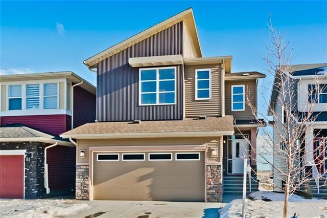 232 Cornerstone Manor NE, Calgary, AB T3N 1H4 (#C4188564) :: The Cliff Stevenson Group