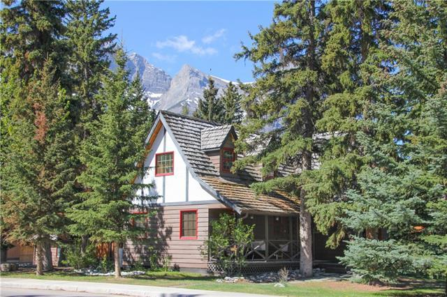 601 3 Street, Canmore, AB T1W 2H9 (#C4189252) :: Canmore & Banff