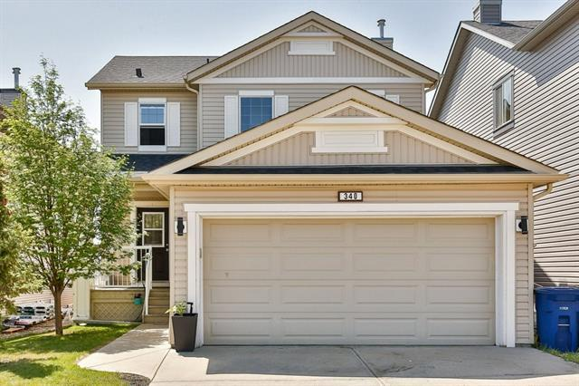 340 Sagewood Landing SW, Airdrie, AB T4B 3N6 (#C4189343) :: The Cliff Stevenson Group