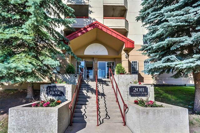 2011 University Drive NW #604, Calgary, AB T2N 4T4 (#C4189823) :: Tonkinson Real Estate Team