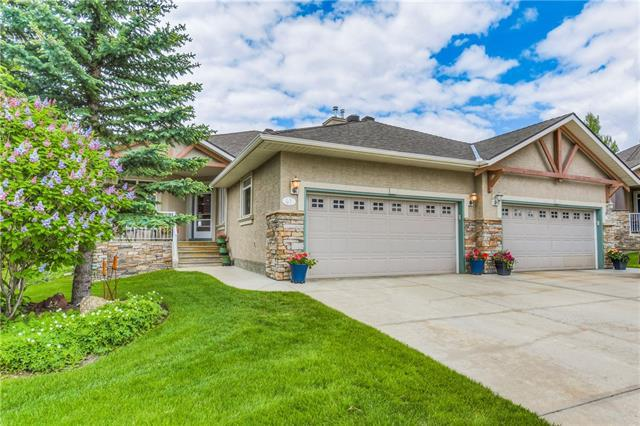 41 Discovery Woods Villa(S) SW, Calgary, AB T3H 5A7 (#C4190003) :: The Cliff Stevenson Group