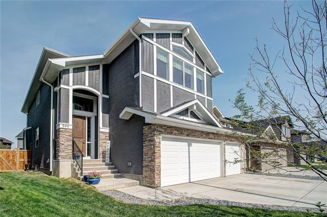 599 West Chestermere Drive, Chestermere, AB T1X 1B4 (#C4190115) :: Calgary Homefinders