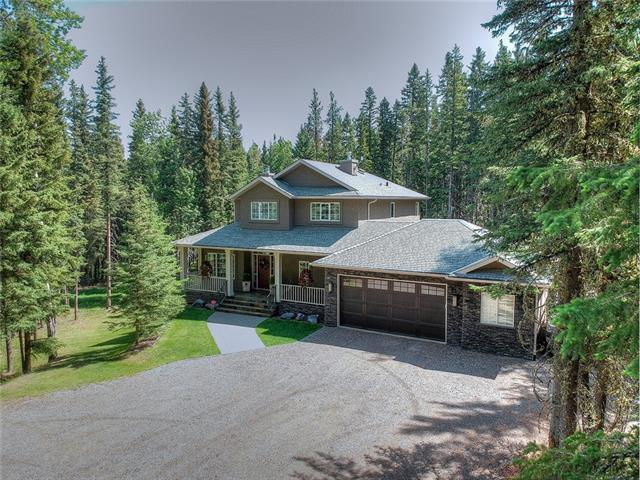 7 Highlands Boulevard, Bragg Creek, AB T0L 0K0 (#C4190190) :: Your Calgary Real Estate