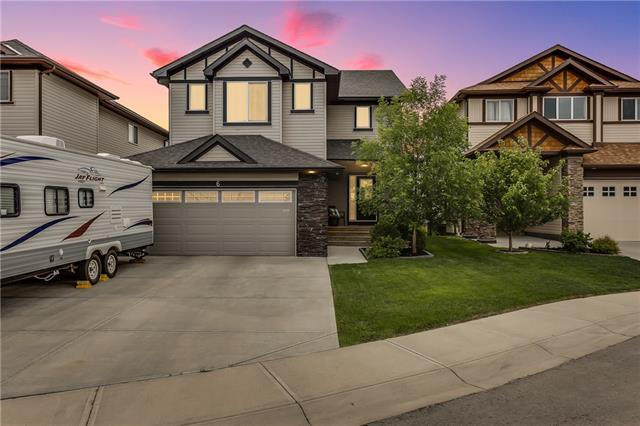 6 Prairie Springs Bay SW, Airdrie, AB T4B 0L9 (#C4190390) :: The Cliff Stevenson Group