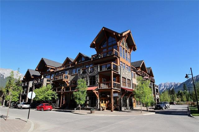 505 Spring Creek Drive #203, Canmore, AB T1W 0C5 (#C4190503) :: Your Calgary Real Estate