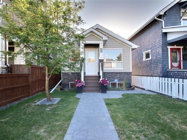 207 15 Street NW, Calgary, AB T2N 2A8 (#C4190572) :: The Cliff Stevenson Group