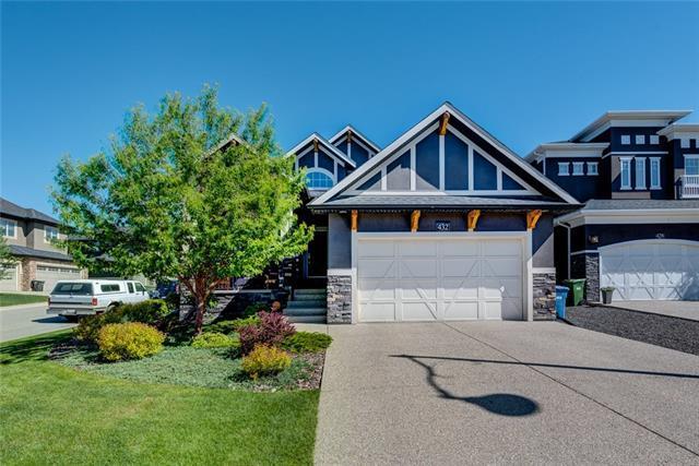 432 Aspen Glen Place SW, Calgary, AB T3H 0E9 (#C4190694) :: The Cliff Stevenson Group