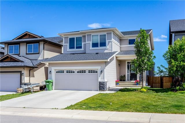 2798 Prairie Springs Green SW, Airdrie, AB T4B 0L9 (#C4190940) :: The Cliff Stevenson Group
