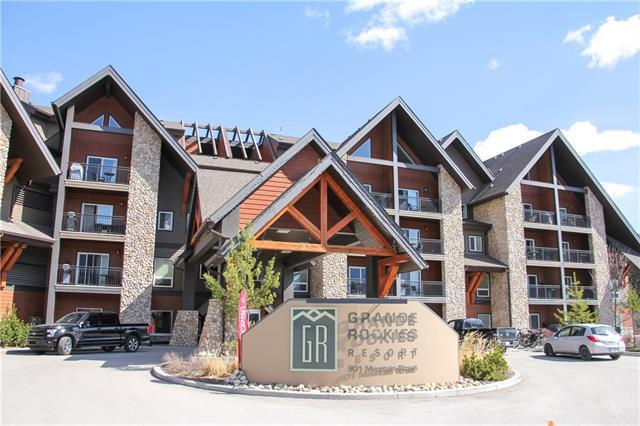901 Mountain Street #122, Canmore, AB T1W 0C9 (#C4190986) :: The Cliff Stevenson Group