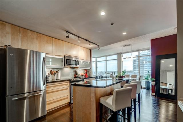 215 13 Avenue SW #1106, Calgary, AB T2R 0V6 (#C4191157) :: The Cliff Stevenson Group
