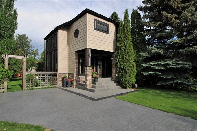 1619 7 Street NW, Calgary, AB T2M 3H7 (#C4191410) :: Canmore & Banff