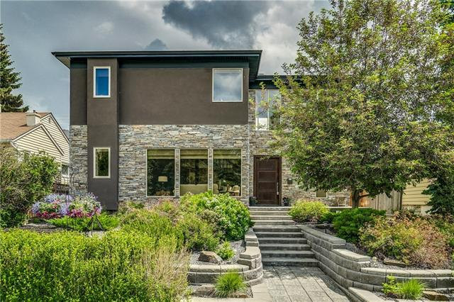 1422 Crescent Road NW, Calgary, AB T2M 4B1 (#C4191504) :: Canmore & Banff