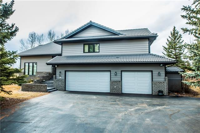 64 Pinetree Drive SW, Rural Rocky View County, AB T3Z 3K4 (#C4191524) :: The Cliff Stevenson Group