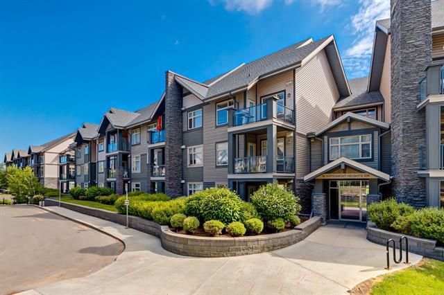 35 Aspenmont Heights SW #319, Calgary, AB T3H 0E5 (#C4191711) :: Redline Real Estate Group Inc