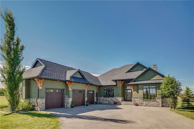 32045 Aventerra Road, Rural Rocky View County, AB T3Z 2A7 (#C4191911) :: Tonkinson Real Estate Team