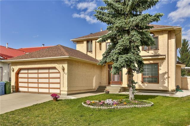 22 Coronado Place NE, Calgary, AB T1Y 6P1 (#C4192084) :: Canmore & Banff