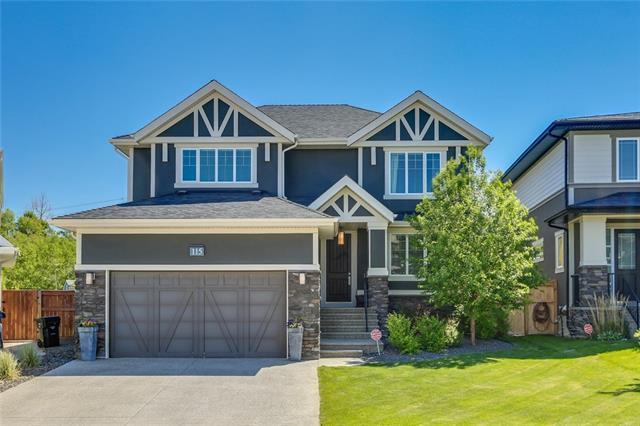 115 Aspen Dale Way SW, Calgary, AB T3H 0S1 (#C4192136) :: Redline Real Estate Group Inc