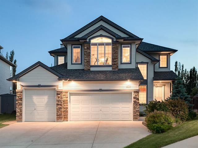 601 Cavendish Beach Bay, Chestermere, AB T1X 1H9 (#C4192169) :: Your Calgary Real Estate