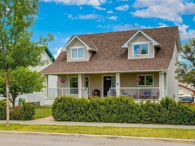 56 Westland Street, Okotoks, AB T1S 2C2 (#C4192393) :: Your Calgary Real Estate