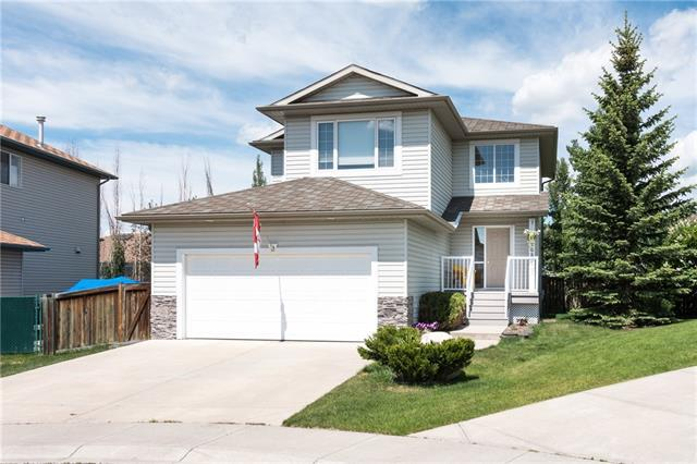 208 West Terrace Place, Cochrane, AB T4C 1S2 (#C4192643) :: Your Calgary Real Estate