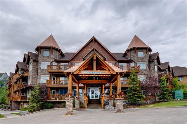 30 Lincoln Park Park #421, Canmore, AB T1W 3E9 (#C4192681) :: Redline Real Estate Group Inc