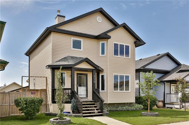 115 Luxstone Crescent SW, Airdrie, AB T4B 2W8 (#C4192702) :: Calgary Homefinders