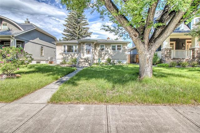 711 35 Street NW, Calgary, AB T2N 2Z6 (#C4193456) :: Canmore & Banff
