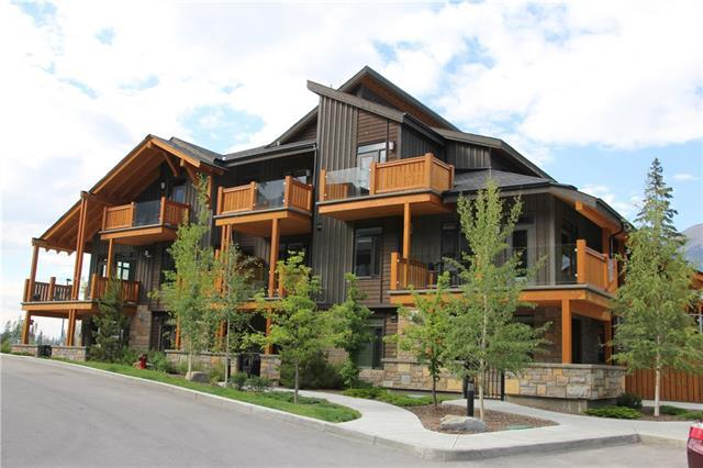 3000A Stewart Creek Drive #204, Canmore, AB T1W 0G5 (#C4193505) :: Canmore & Banff