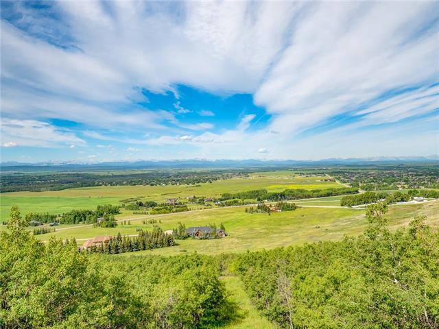 242243 Westbluff Road, Rural Rocky View County, AB T3Z 3P2 (#C4193536) :: Tonkinson Real Estate Team