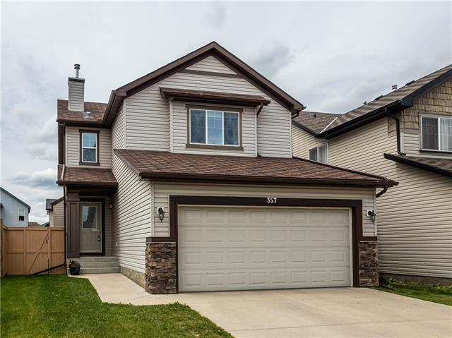 357 Cimarron Boulevard, Okotoks, AB T1S 2L8 (#C4193591) :: The Cliff Stevenson Group