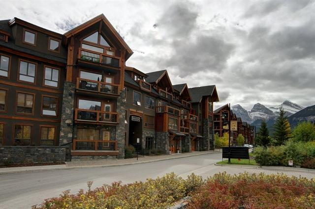 600 Spring Creek #106, Canmore, AB T1W 0C8 (#C4193702) :: Redline Real Estate Group Inc