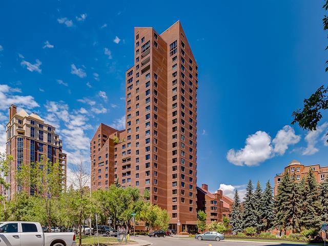 500 Eau Claire Avenue SW 301K, Calgary, AB T2P 3R8 (#C4193758) :: Tonkinson Real Estate Team