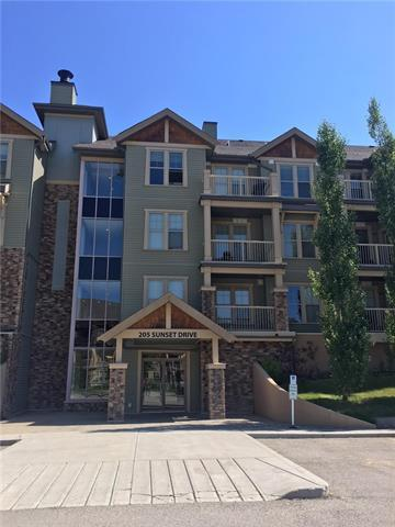 205 Sunset Drive #306, Cochrane, AB T4C 0H6 (#C4193776) :: Calgary Homefinders