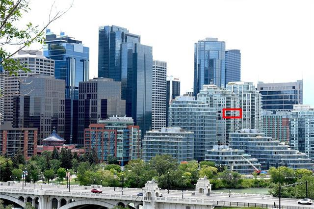 222 Riverfront Avenue SW #1412, Calgary, AB T2P 0W3 (#C4193949) :: Tonkinson Real Estate Team