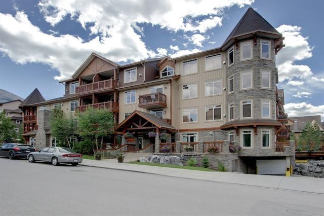190 Kananaskis Way #304, Canmore, AB T1W 3K5 (#C4194141) :: Redline Real Estate Group Inc