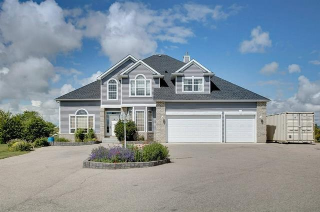 255 Stage Coach Lane, Rural Rocky View County, AB T4A 0P2 (#C4194314) :: Calgary Homefinders