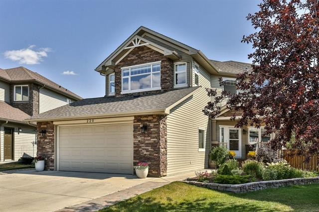 220 Crystal Green Place, Okotoks, AB  (#C4194361) :: Tonkinson Real Estate Team