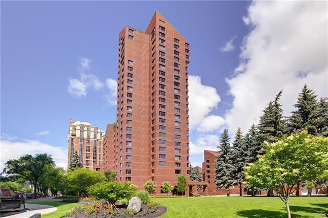 500 Eau Claire Avenue SW 602B, Calgary, AB T2P 3R8 (#C4194450) :: Tonkinson Real Estate Team