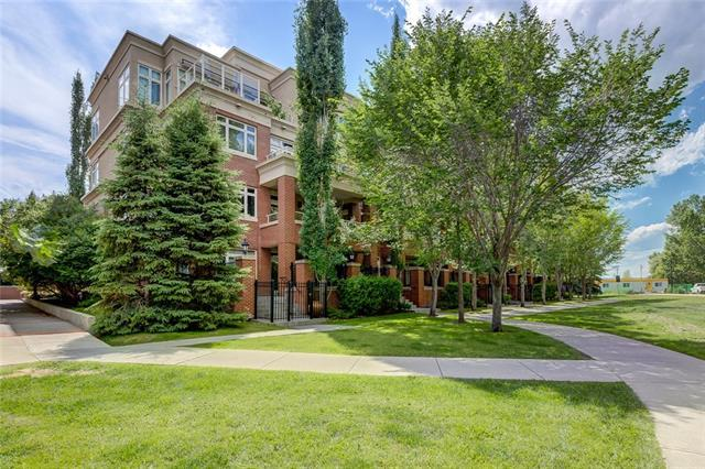 680 Princeton Way SW #401, Calgary, AB T2P 5K2 (#C4194462) :: Tonkinson Real Estate Team