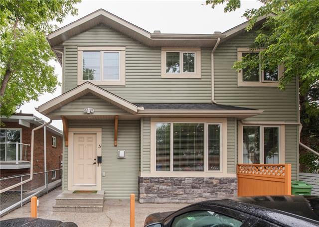 1412 20 Avenue NW #5, Calgary, AB T2M 1G5 (#C4194541) :: Calgary Homefinders