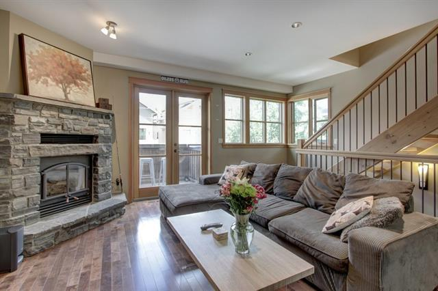 3rd Street #4, Canmore, AB T1W 2J7 (#C4194556) :: Canmore & Banff