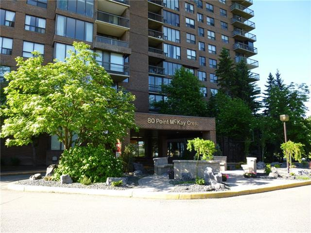 80 Point Mckay Crescent NW #1503, Calgary, AB T3B 4W4 (#C4194630) :: Tonkinson Real Estate Team