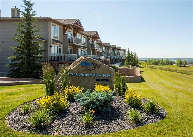 108 Rockyledge View NW #11, Calgary, AB T3G 5X2 (#C4194757) :: Tonkinson Real Estate Team