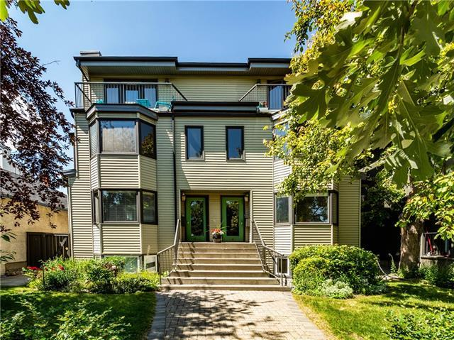 467 12 Street NW #1, Calgary, AB T2N 1Y9 (#C4194833) :: Tonkinson Real Estate Team
