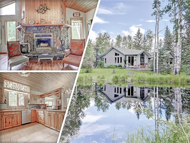 200 Aspen Creek Drive, Rural Foothills M.D., AB T0L 1K0 (#C4194971) :: Your Calgary Real Estate
