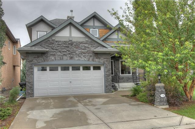 74 Cougar Plateau Circle SW, Calgary, AB T3H 5S7 (#C4194980) :: The Cliff Stevenson Group
