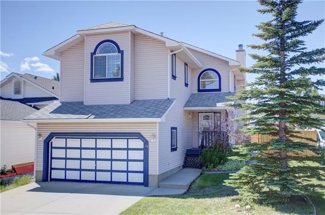 19 Hidden Vale Close NW, Calgary, AB T3A 5C8 (#C4195037) :: Calgary Homefinders