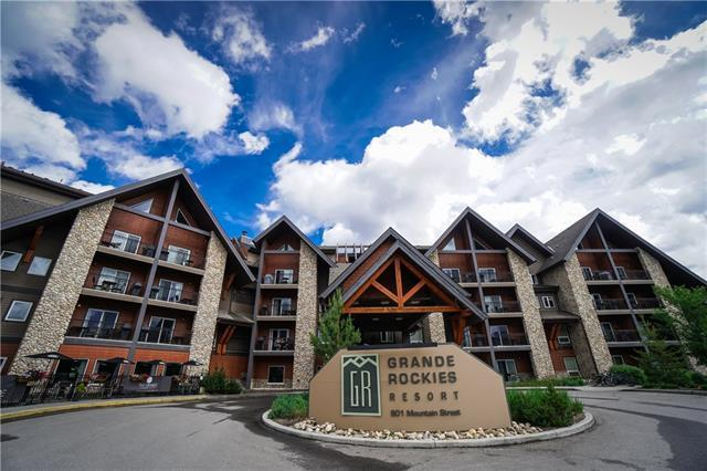 901 Mountain Street #307, Canmore, AB T1W 0C9 (#C4195117) :: Canmore & Banff